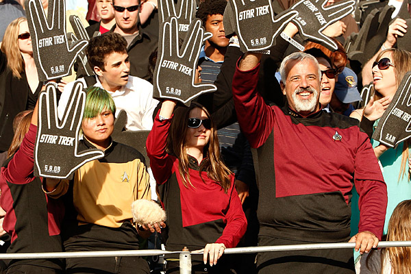 "Star Trek Fans at ""Star Trek"" Film Premiere"