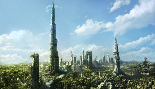 Dubai Ruins by Jonas De Ro on Deviant Art