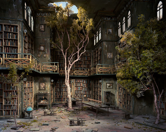 Library by Lori Nix