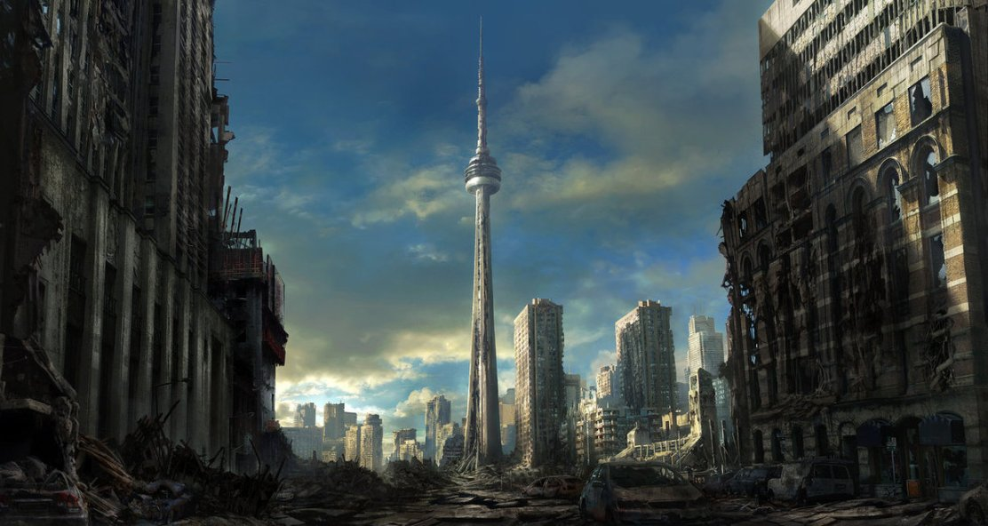 Toronto Ruins by Jonas De Ro on Deviant Art