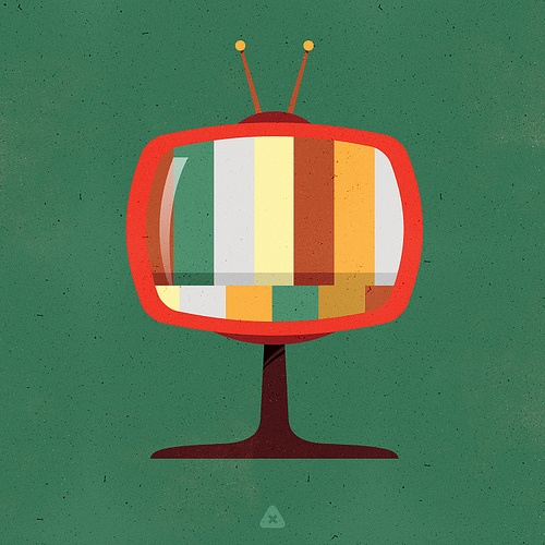 Retro Television by micahburger on Flickr