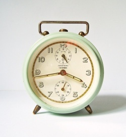 Vintage alarm clock Junghans Bivox from Germany
