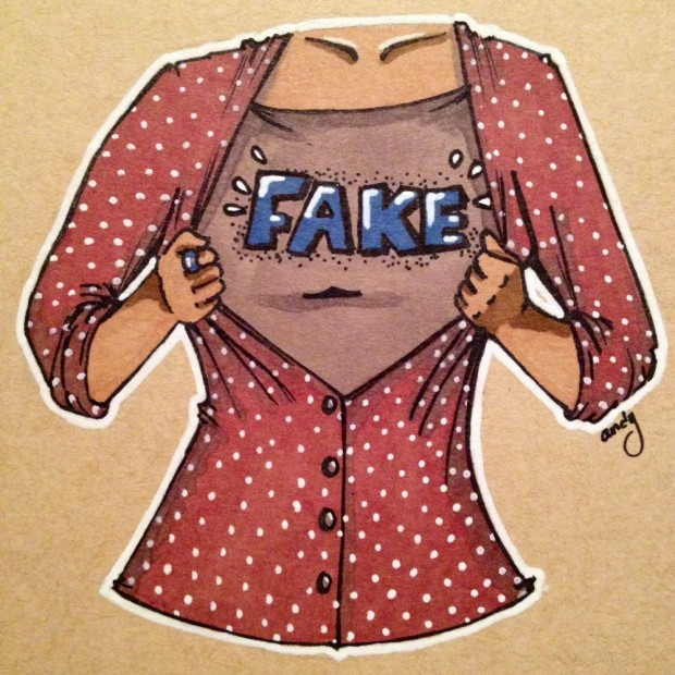 Fake Geek Girl by Andy