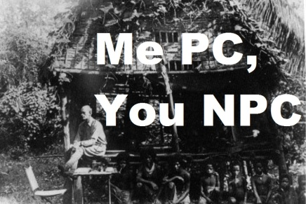 Me PC, You NPC: Spot Check20