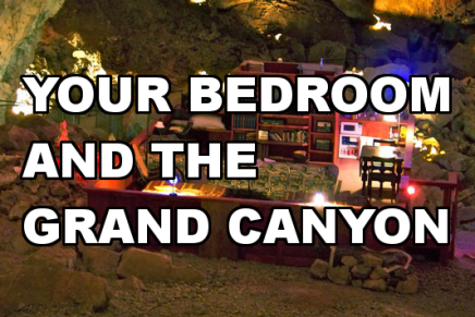 Your Bedroom and The Grand Canyon: Spot Check 21