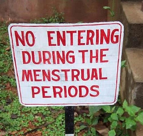 Menstrual Signs