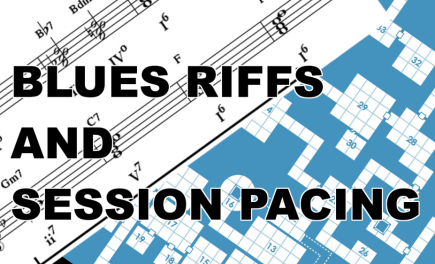 Blues Riffs and Session Pacing: Spot Check 22