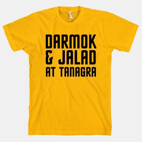 Darmok T-shirt on LookHuman.