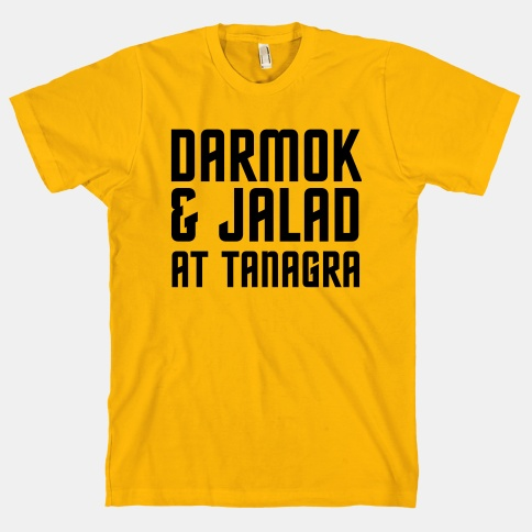 Darmok T-shirt on LookHuman.