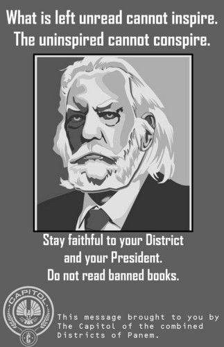 Source: http://www.examiner.com/slideshow/the-hunger-games-banned-books-week-posters#slide=1