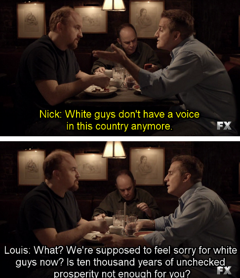 Screenshot from Louie: http://www.fxnetworks.com/louie