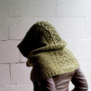 Skyrim inspired Khajiit Cowl by Lili Aghabeik on Ravelry