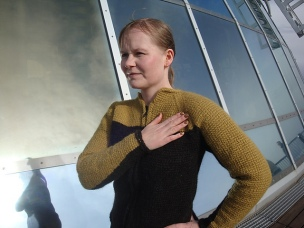 Tribute to Star Trek Sweater by Patrick Hassel-Zein on Ravelry