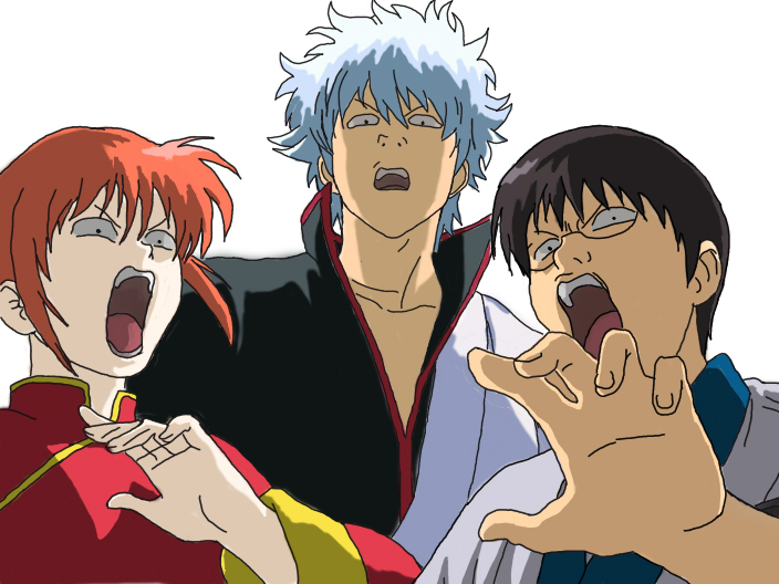 Gintama (Yorozuya ) by oblax17 on Deviantart