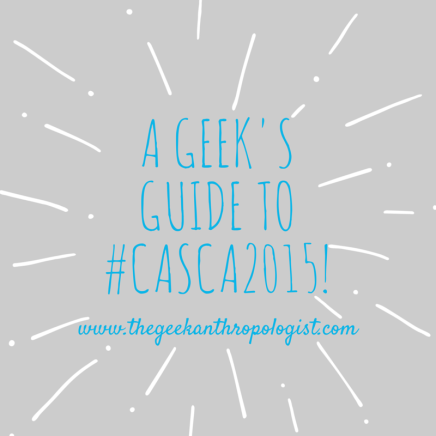 A Geek's Guide to #Casca2015