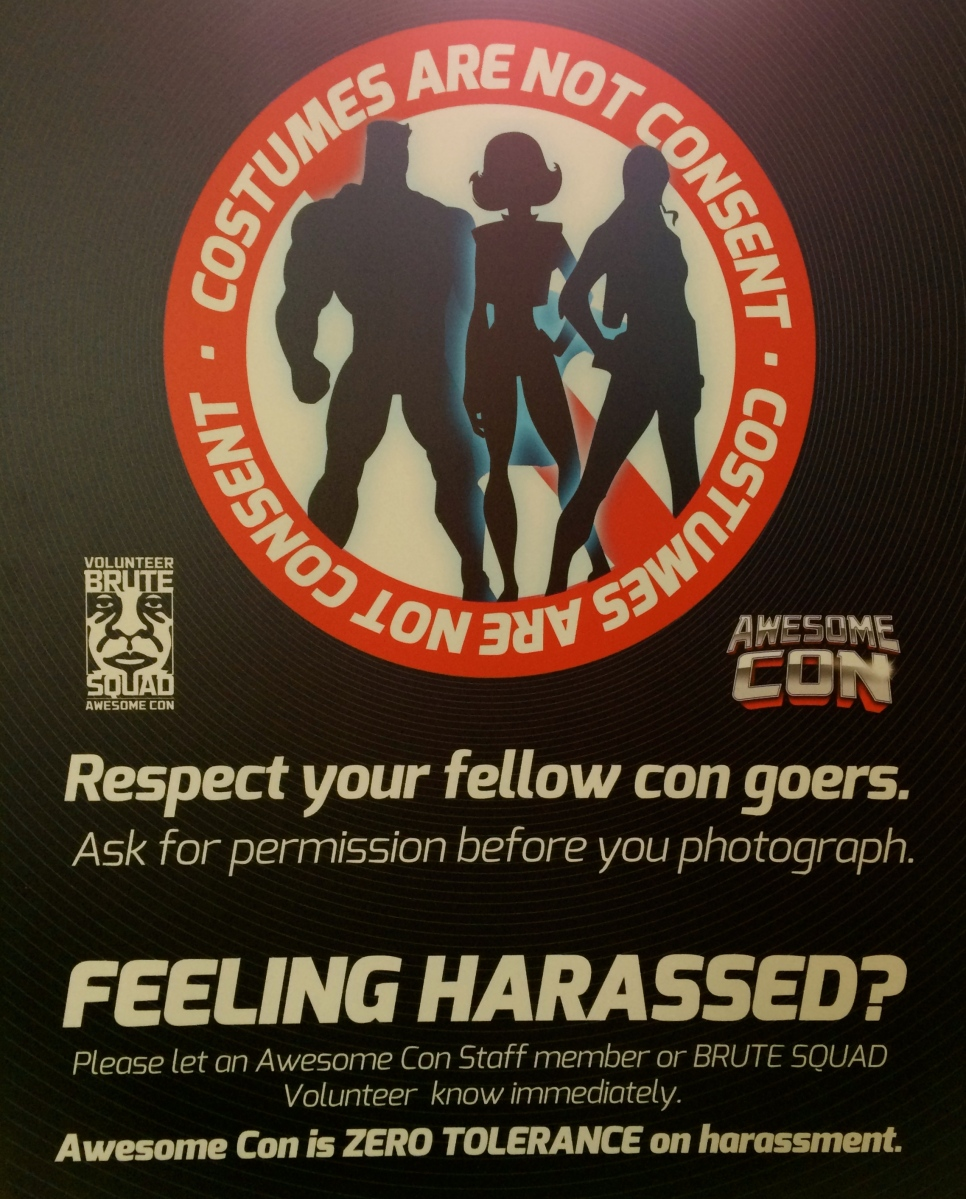 The Character of Sexual Harassment at Cons