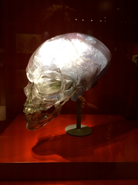 Crystal Skull, photograph by author
