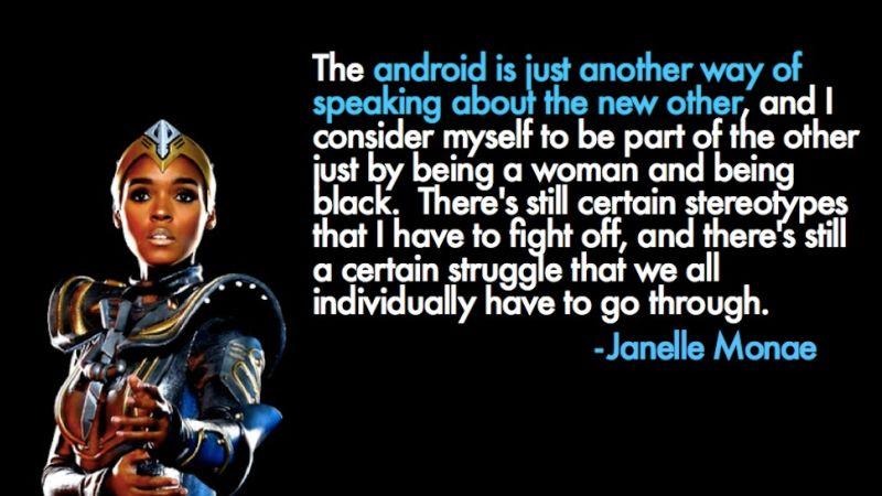 Janelle Monae, via io9, http://io9.gizmodo.com/the-android-who-inspires-us-1225202664