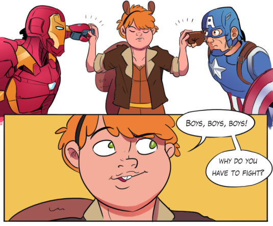 Squirrel Girl, via The Mary Sue http://themarysue.tumblr.com/post/143805851095