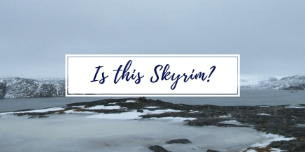 Notes From the Field: Is this Skyrim? Déjà vu from a Video Game