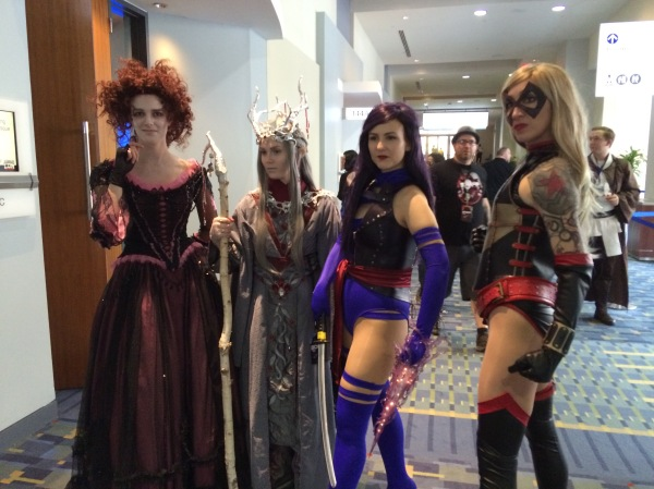 Vanya Yount and Conjure Corps at Awesome Con 2016