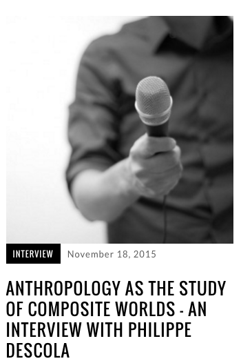 Anthropology as the Study of Composite Worlds, Allegra Lab