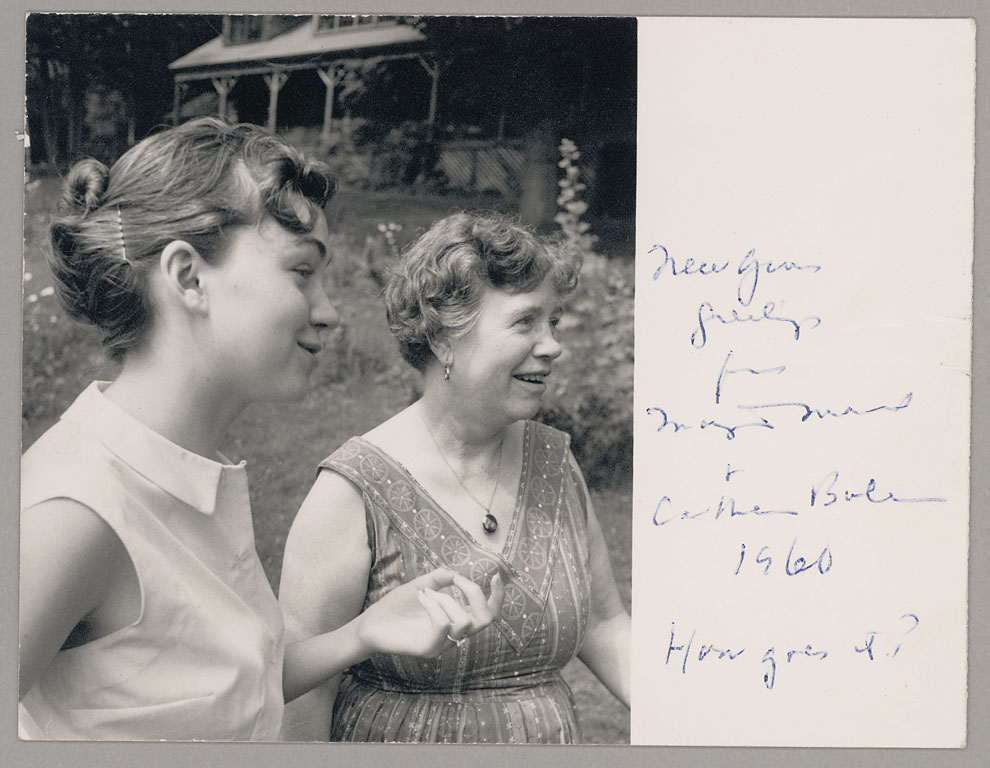 Margaret Mead and her daughter Mary Catherine Bateson