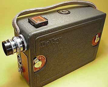 Ca. 1930s DeVry 35mm Camera