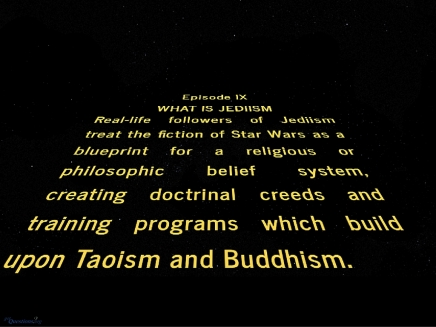 When Science Fiction meets Religion: The Case ofJediism