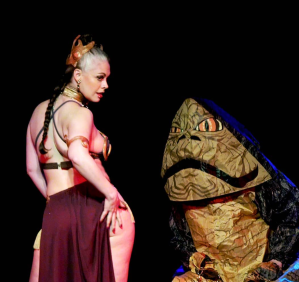 Cherie Sweetbottom's Hutt Slayer Leia Act